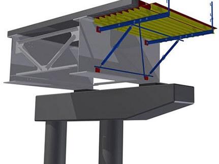 Система консолей для строительства мостов любой конфигурации